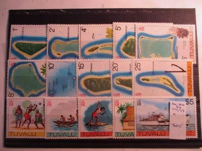 Anglické kolonie Tuvalu