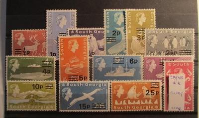 Anglické kolonie South Georgia Alžběta