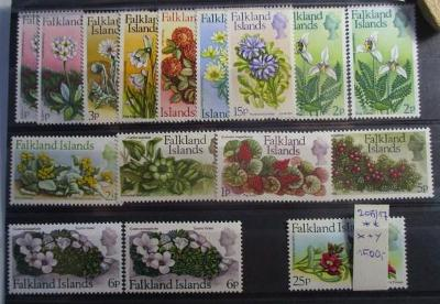 Anglické kolonie Falkland Islands fauna  Alžběta