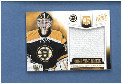 Michael Hutchinson - Boston Bruins - jersey