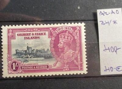 Anglické kolonie Gilbert Ellice Islands