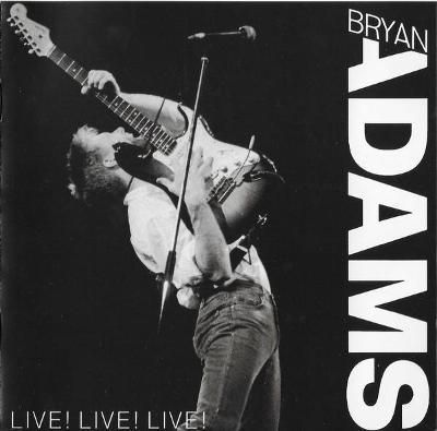 Bryan Adams – Live! Live! Live! CD 1988 jako nove NM