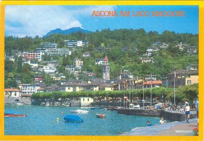 Švýcarsko, Ascona u jezera Lago Maggiore, prošlá