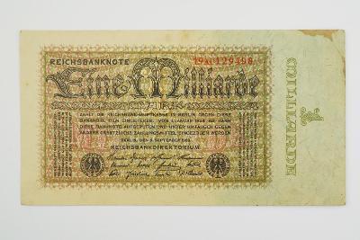 1 milliarde Mark 1923