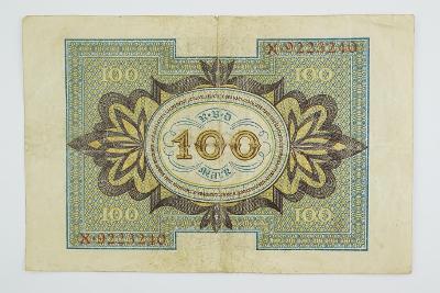 100 Mark 1920 s. X