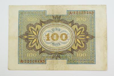 100 Mark 1920 s. A