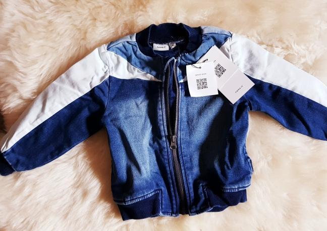 NAME-IT FRAJERSKÁ DĚTSKÁ UNISEX BUNDA/ 86/92 /NOVÁ  - Oblečení