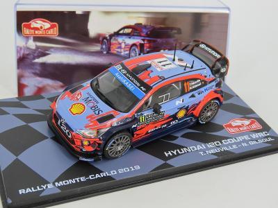 Hyundai i20 Coupe WRC Neuville   Rally 2019 IXO Altaya 1:43  altr01