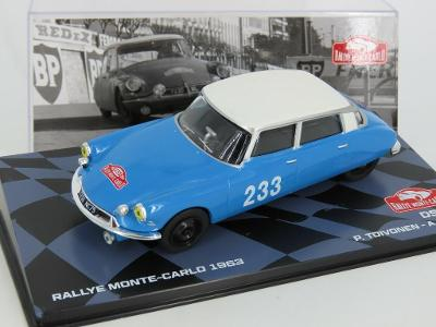 Citroen DS Toivonen Rally 1963 IXO Altaya 1:43  altr01