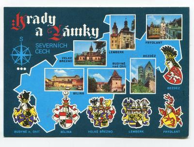 Hrady a zámky Severních Čech, erby