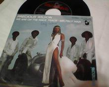 PRECIOUS WILSON-WE ARE ON THE RACE TRACK-SP-1980.ERUPTION.