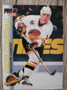 Karta Pro Set 92-93 č. 198 Geoff Courtnall
