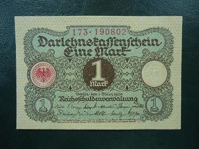 1 Mark  1920 UNC