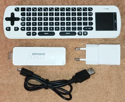 Multim. centrum Sencor Element -změní TV na Smart TV -jako nové !