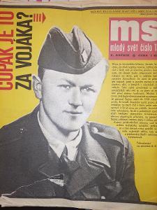 Mladý Svět 29.3.1968 komletní  vydání