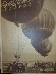 České Slovo nedělní chvilka 9.9.1934