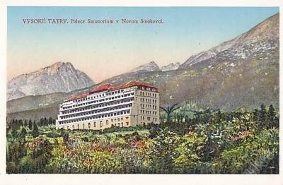 TATRY- NOVÝ SMOKOVEC- SANATORIUM PALACE - 21-ZX28
