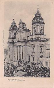 GUATEMALA - GUATEMALA CITY - KATEDRÁLA - 3-ZW60