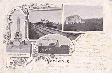 VÁCLAVICE - POZDRAV Z - OKÉNKOVÁ - 23-VY94