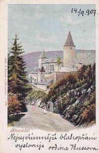 KŘIVOKLÁT - HRAD -13-YY66