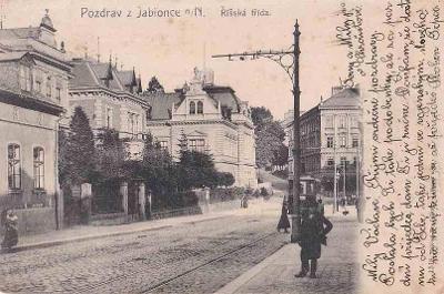 JABLONEC NAD NISOU - ŘÍŠSKÁ TŘÍDA - 94-ZY77