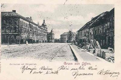 JIHLAVA - GRUSS AUS - GYMNÁSIUM - 218-SQ86