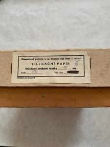 Filtrační papír 150 mm (skládané kruhové výseky, 500 ks)