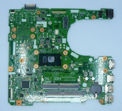 DELL VOSTRO 15 3568 i3-6100U ZÁKLADNÍ DESKA s CPU 100% FUNKCNI !!