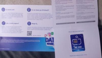 DATAMÁNIE 100 GB SIM O2 LIMITOVANÁ EDICE !!!
