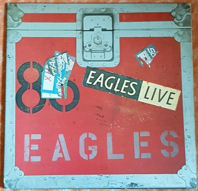 2LP Eagles – Eagles Live 1980