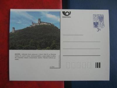 ** CDV A 17/95 - BEZDĚZ - královský hrad postavený 1264/78 - popis