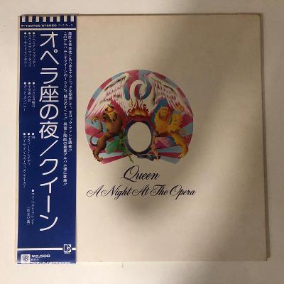 Queen – A Night At The Opera - LP vinyl Japan Elektra od 99Kč