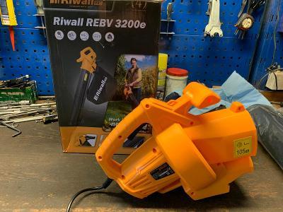 REBV 3200 e - vysavač/foukač elektrický 3200 W