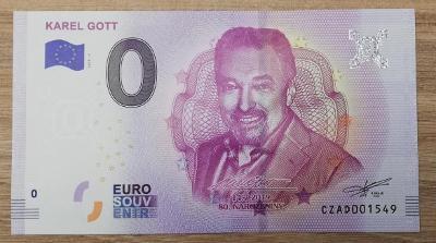 0 euro Karel Gott v TOP kvalitě poměrně nízké číslo