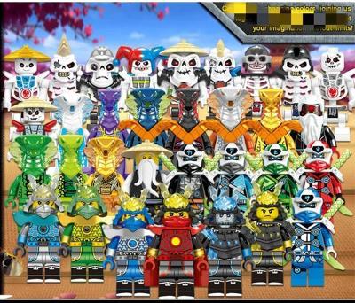32 figurek Ninjago (typ Lego)