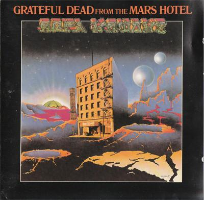 Grateful Dead – From The Mars Hotel CD 1989 NM jako nove Psychedelic