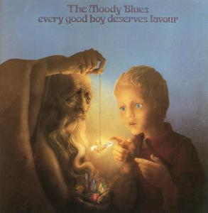 The Moody Blues – Every Good Boy Deserves Favour 1971 CD jako nove NM