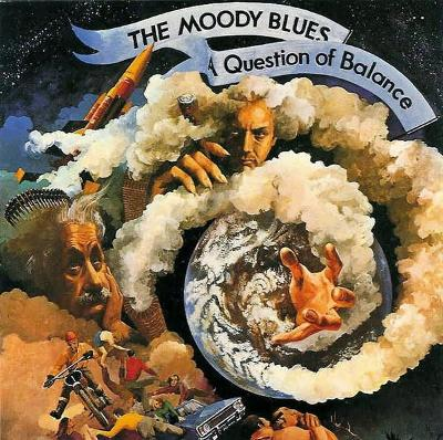 The Moody Blues – A Question Of Balance 1970 CD Psychedelic jako nove