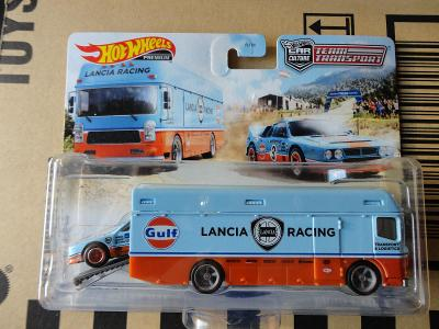 Hot Wheels Team Transport Lancia Rally 037/Euro Hauler.Rozbalený.