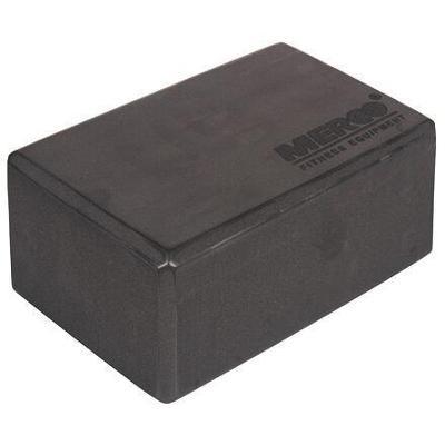 Merco Yoga kostka blok na jógu - 7,5 cm - šedá