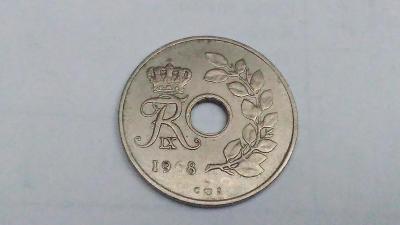 25 øre 1968 Dánsko