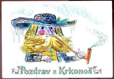 Pozdrav z Krkonoš