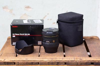 Objektiv Sigma 24-70mm f/2,8 IF EX DG HSM pro Canon