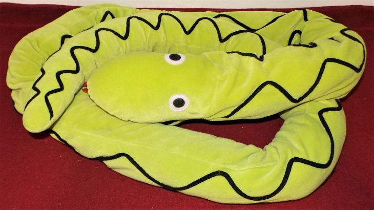 Velký plyšový had  - Hračky