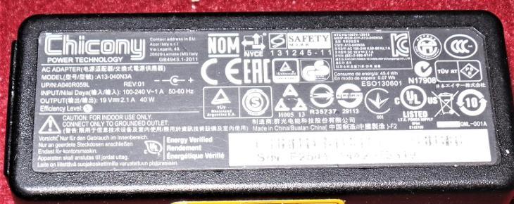 Kabel pro notebook III - Notebooky, příslušenství