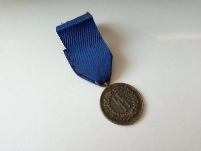 Medaile 4 rioky u Waffen SS