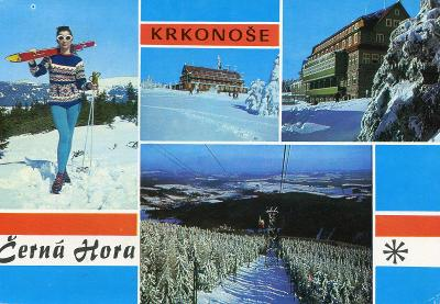 KRKONOŠE - ČERNÁ HORA