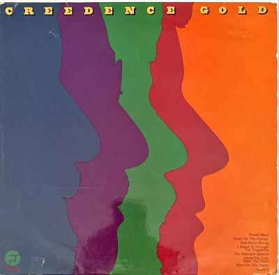 LP Creedence Clearwater Revival – Creedence Gold, G, 1972, vypraná