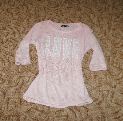 Příjemný svetřík-triko zn. NEW LOOK vel. S/M