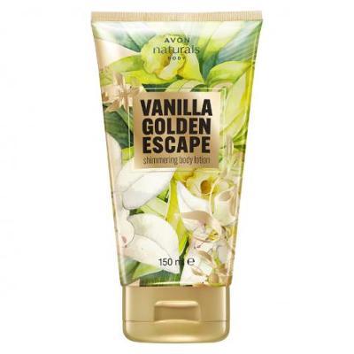 Avon - Naturals - třpytivé tělové mléko s vanilkou - 150 ml